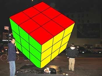 All Too Flat Pranks Cube